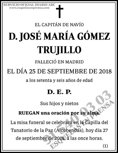 José María Gómez Trujillo